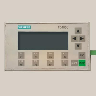 西门子TD400C文本显示器 6AV6640 6AV6 640-0AA00-0AX0 TD400C