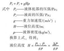 关于一种差压式液位计(液位变送器)新型取压方法的探讨