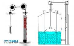 浮标液位计结构组成及产品的安装使用