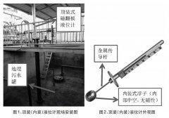 顶装式磁翻板液位计在地埋污水罐测量中故障原因及处理措施