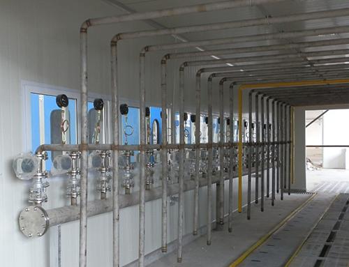 液态氧流量计产品安装现场图