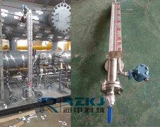磁翻板液位计通过差压法对储油罐进行检测的方案先容