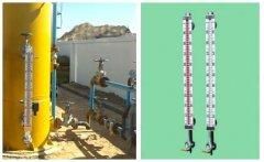 磁翻板液位计测量卧式壳管式蒸发器液位中选型及改造简要先容