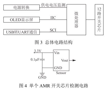 单个 AMR 开关芯片检测电路