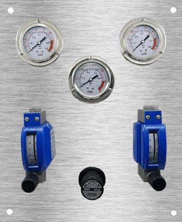 吹气式液位计吹扫装置(配金属浮子流量计/双路)